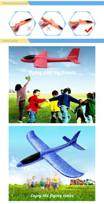 BadassBaby DIY Hand Throw Flying Glider Planes