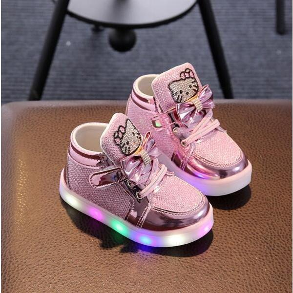 Hello Kitty LED Glow Sneakers