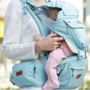 Carrying a baby for a long time in your arms can be tiring for both you and the baby. It can also sometimes cause discomfort to the baby. It is also a bit difficult to travel with your baby when you don't have any baby carrier with you.