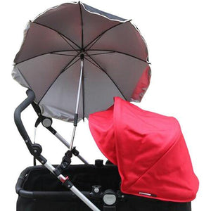 UV-360 Degrees Umbrella - Adjustable and Versatile for Stroller & Beyond