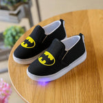 Super Hero - LED Glow Canvas Shoes