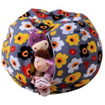 ou might be wondering how the stuffed animals got piled up in your kids room. No matter how you arrange them, the room always look cluttered.  With this stuffed animal storage bean bag, you can place the stuffed animals in one place and keep the room tidy. You will be amazed to see how much space will be freed up with the help of this storage bag.