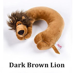 Cartoon Animal Cushion Travel Pillow Neck Support