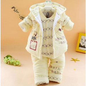 2017 New Arrival Winter Baby Clothing Set