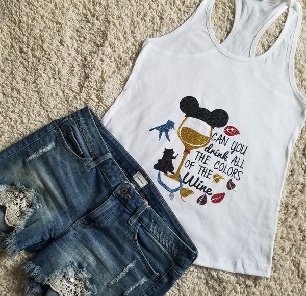 Pocahontas Disney Princess  Food And Wine Festival Tank Top