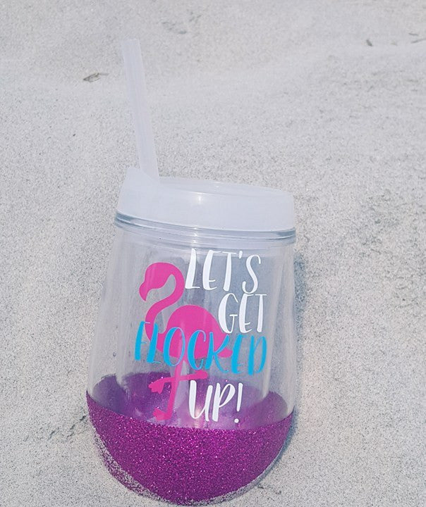 Let's Get Flocked Up Tumbler