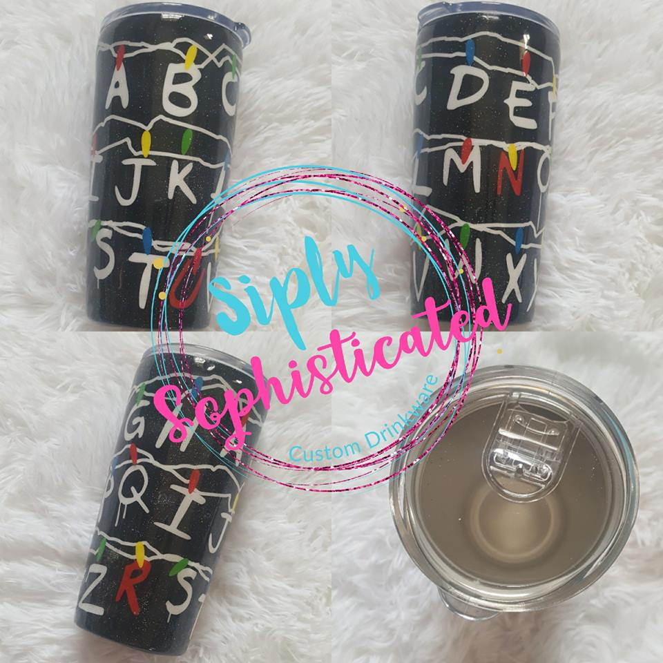 Stranger Things Stainless Steel Tumbler