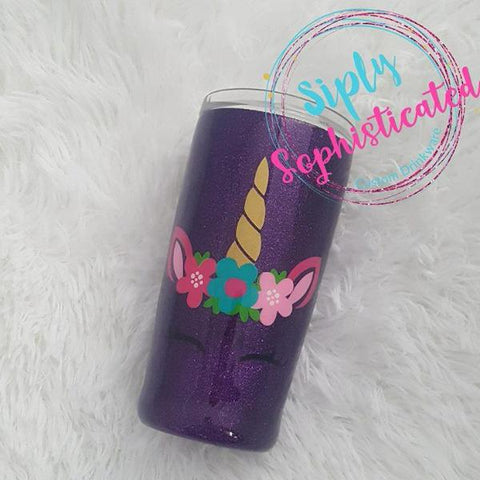 Unicorn Stainless Steel Tumbler