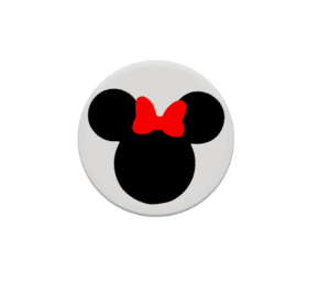 Minnie Mouse Disney Decal For Pop Up Cell Phone Holder