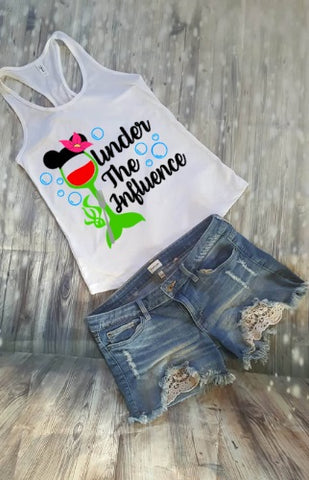 Under The Influence Food And Wine Festival Tank Top