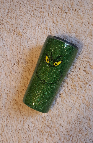 The Grinch Stainless Steel Tumbler