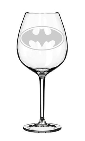 Batman Wine Glass
