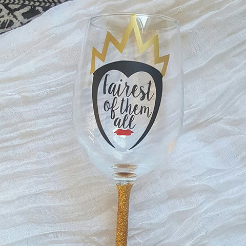 Evil Queen - Disney Villains Wine Glass
