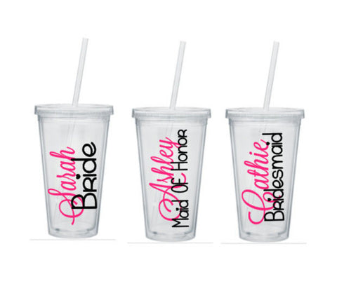 Bridesmaid Tumblers