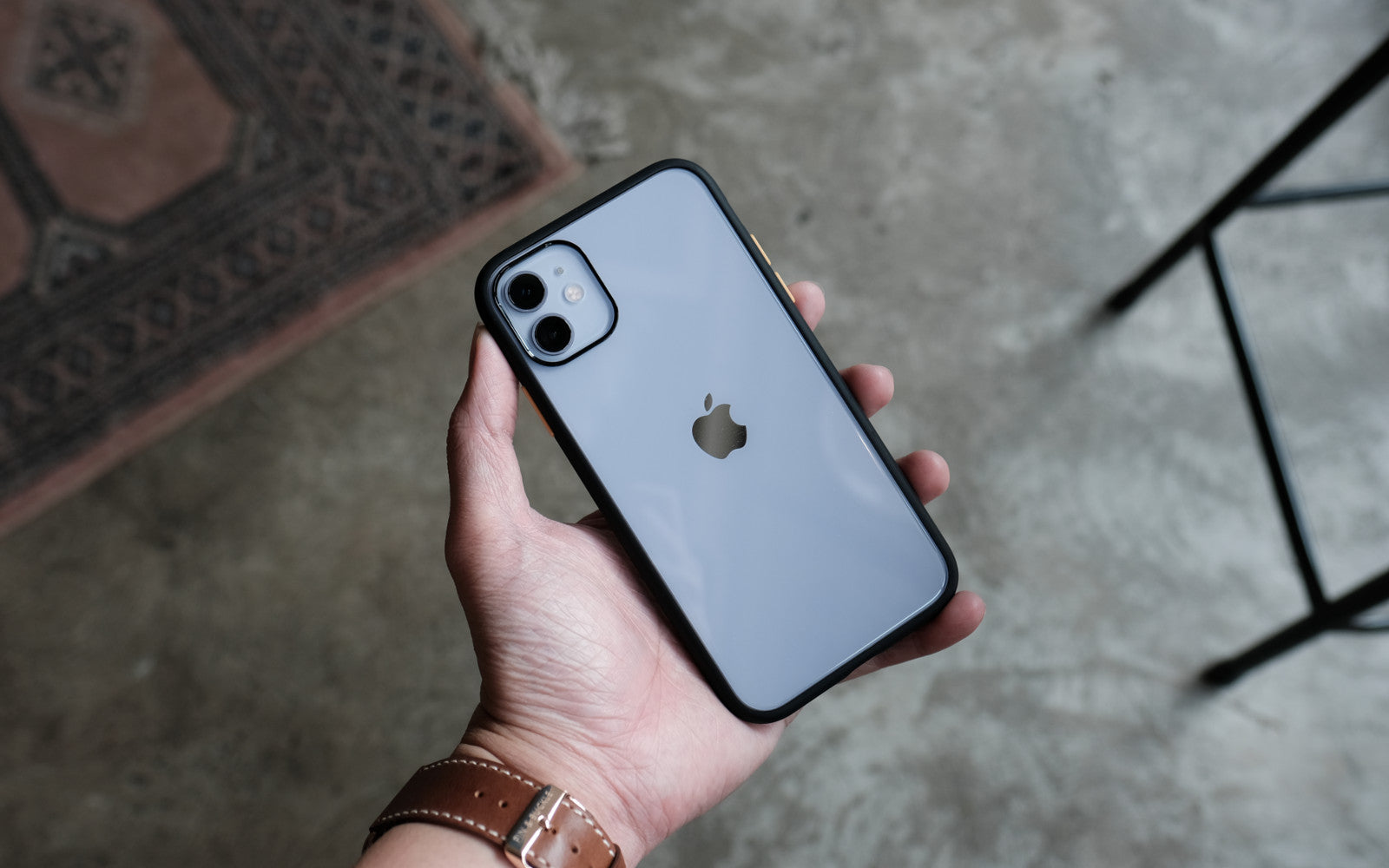 Bare Armour - Minimalist Shock Resistant Case for iPhone 11 - Branding-free