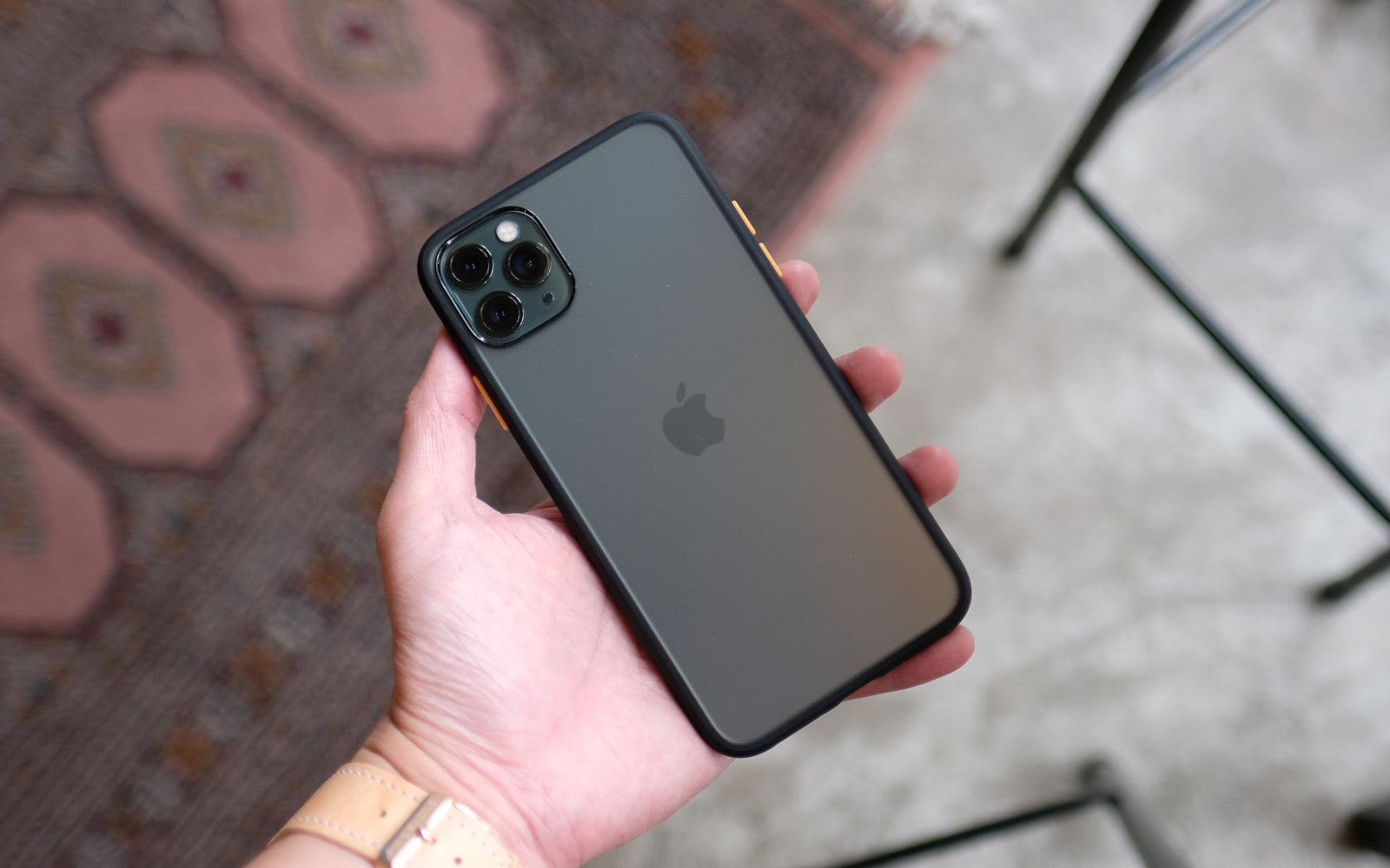 Bare Armour - Minimalist Shock Resistant Case for iPhone 11 Pro and 11 Pro Max - Branding-Free
