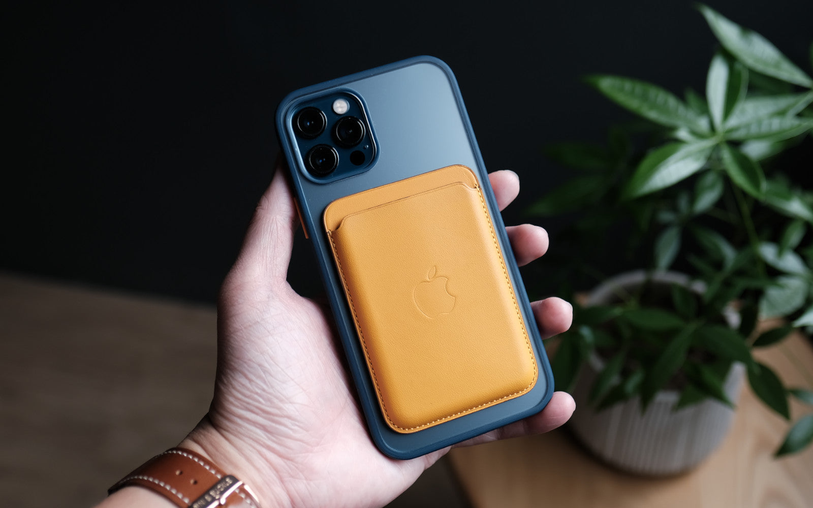 Bare Armour - Minimalist Shock Resistant Case for iPhone 12 Pro and iPhone 12 Pro Max - Works with MagSafe Accessories