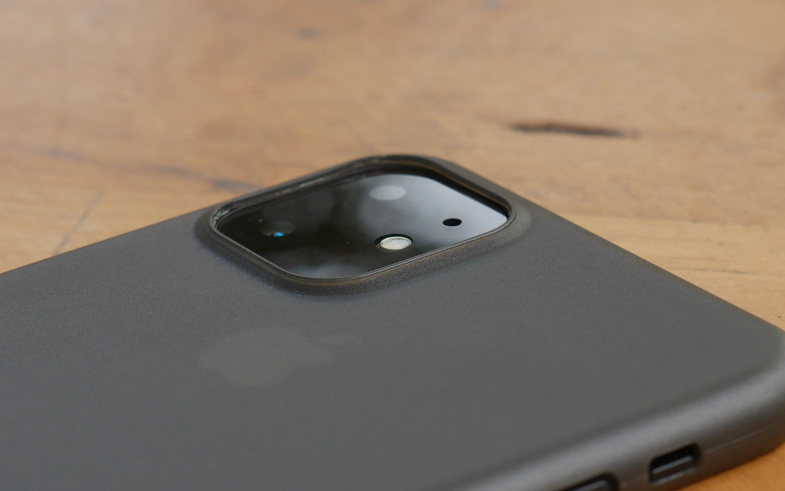 Bare Naked - Thinnest Case for iPhone 11 - Camera Lip