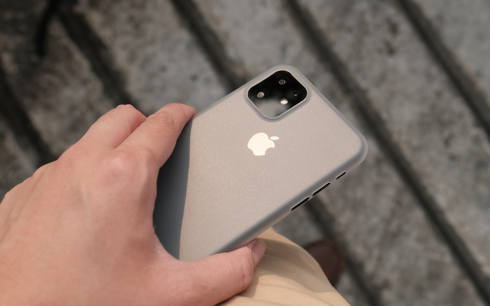 Bare Naked - Thinnest Case for iPhone 11 - Pleasure to Touch