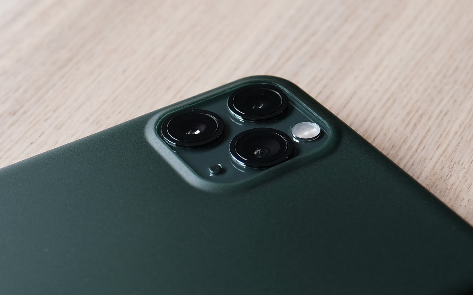 Bare Naked - Thinnest Case for iPhone 11 and 11 Pro - Camera Lip