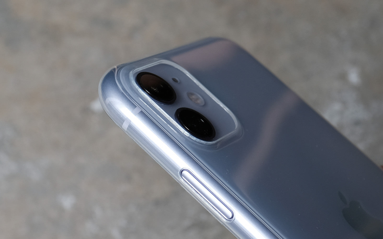 Bare Naked EX - Thinnest Clear Case for iPhone 11 - Camera Lip