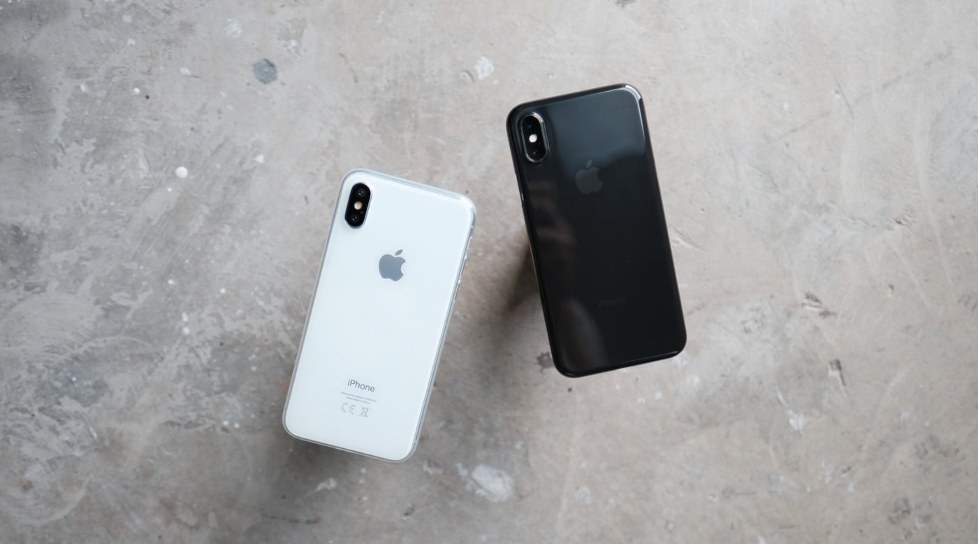 Bare Naked EX for iPhone X - The Thinnest Clear Case for