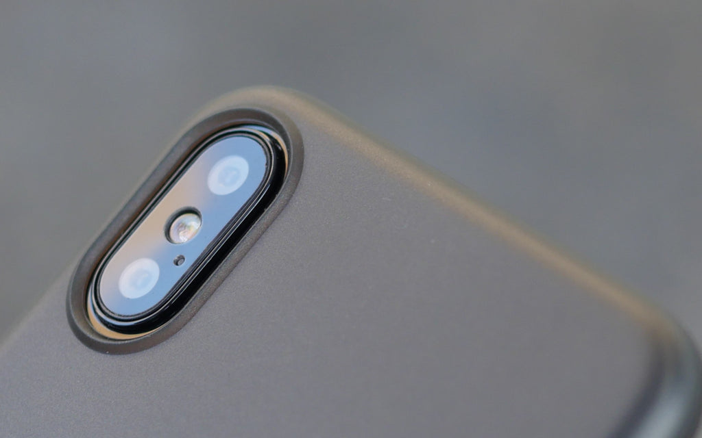 Bare Naked Ultra Thin Case for Apple iPhone X - Camera Lip