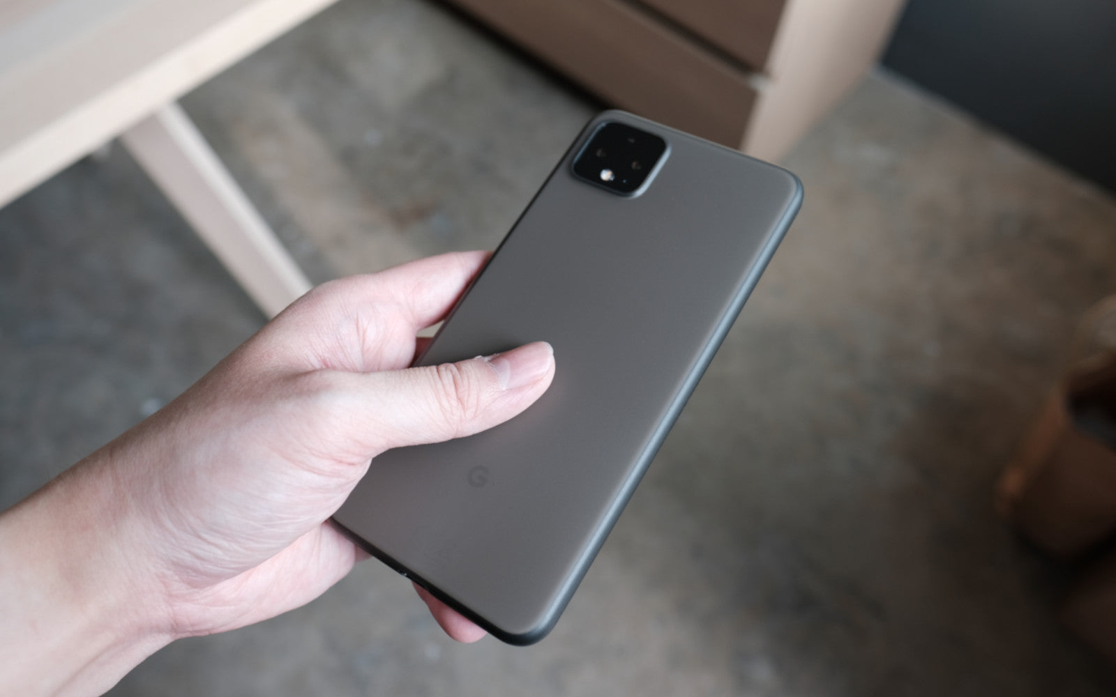 Bare Naked Ultra Thin Case for Google Pixel 4 and Pixel 4 XL - Matte Texture