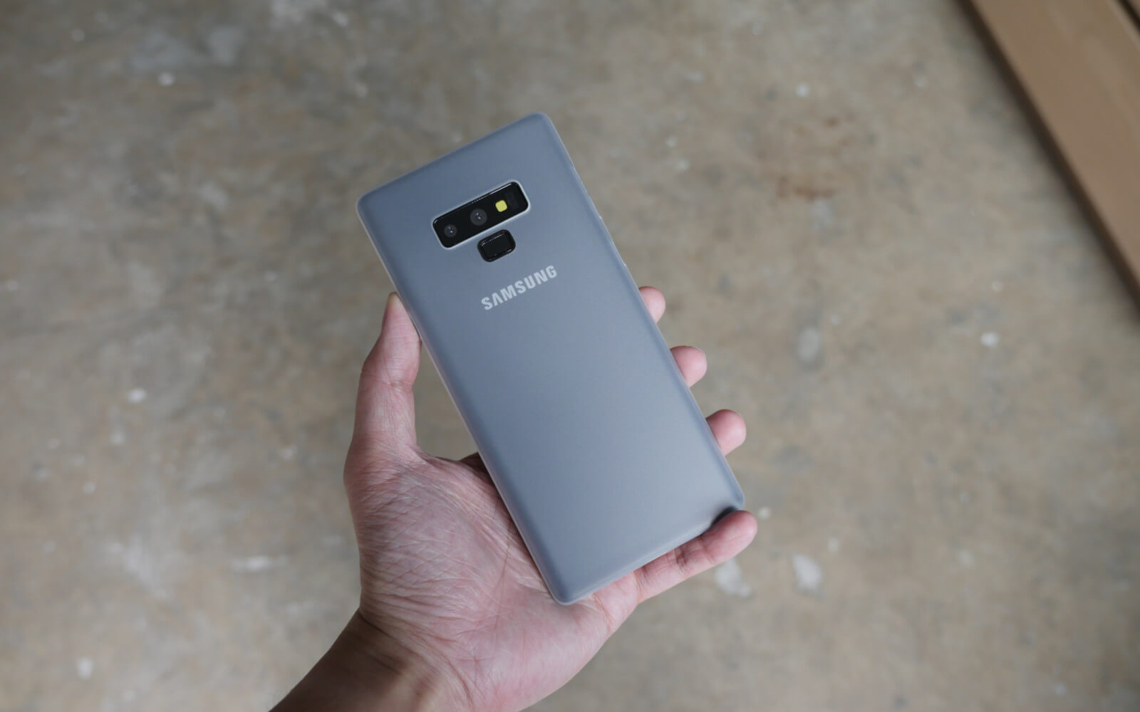 Bare Naked Ultra Thin Case for Samsung Galaxy Note 9 - Branding-Free