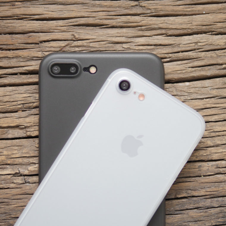 Bare Naked Ultra Thin Case for iPhone 8 and 8 Plus - Frost and Smoke - Perfect for Minimalists