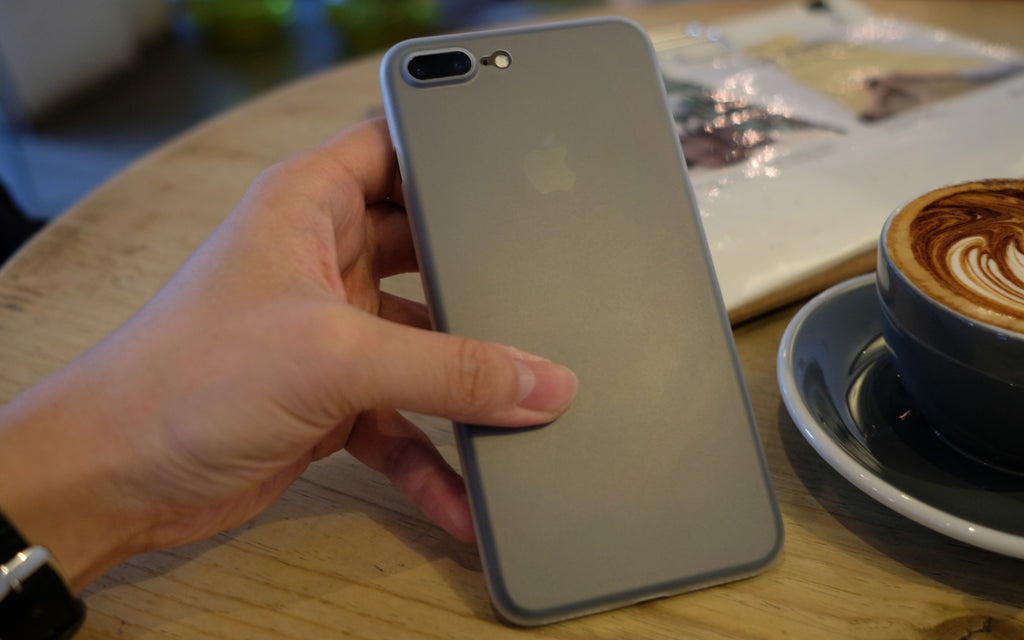 Bare Naked Ultra Thin Minimalist Case for iPhone 7 and 7 Plus - No Birthmarks - Branding-free