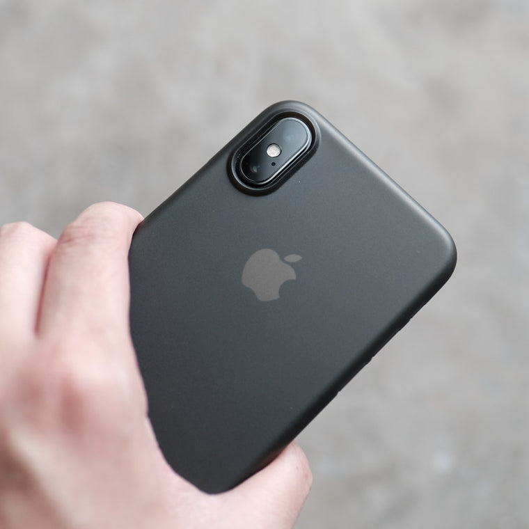 Bare Naked Ultra Thin Case for iPhone X - Smoke