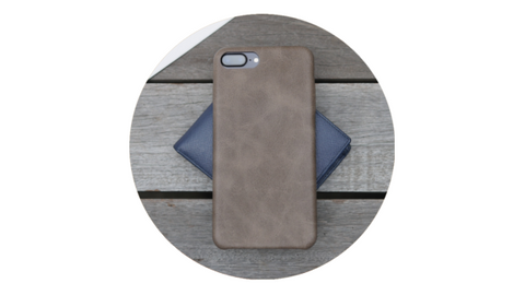 Bare Skin Leather Case Feature - No Birthmarks