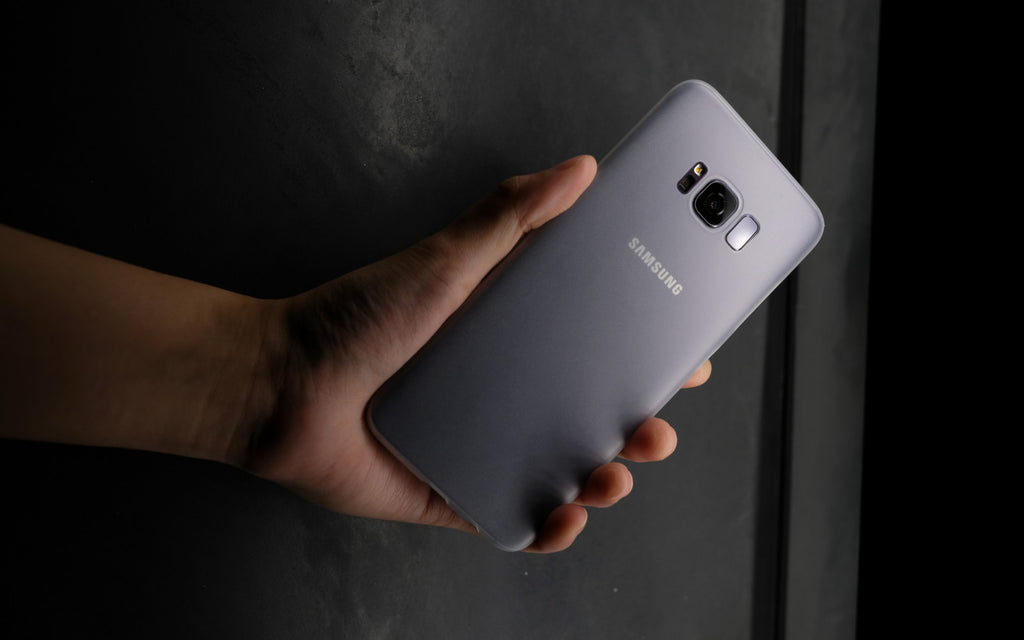 Bare Naked for Samsung Galaxy S8 and S8 Plus | Ultra-thin, Ultra-slim Barely-there Case for Case-haters
