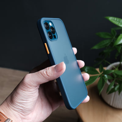 Bare Armour - Minimalist Shock Resistant Case for iPhone 12 Pro and iPhone 12 Pro Max - Thin and Sleek