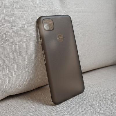 Bare Naked Ultra Thin Case for Google Pixel 4a - Smoke