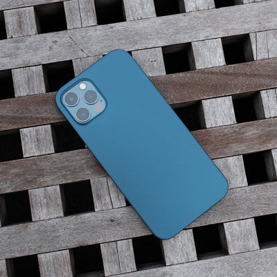 Bare Naked Ultra Thin Case for iPhone 12 Pro and iPhone 12 Pro Max - Pacific Blue