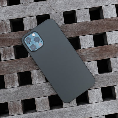 Bare Naked Ultra Thin Case for iPhone 12 Pro and iPhone 12 Pro Max - Smoke