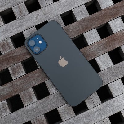 Bare Naked Ultra Thin Case for iPhone 12 and iPhone 12 mini -  Smoke