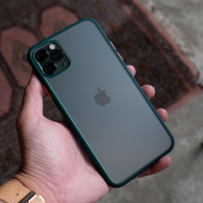 Bare Armour - Minimalist Shock Resistant Case for iPhone 11 Pro and 11 Pro Max - Back