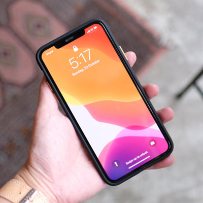 Bare Armour - Minimalist Shock Resistant Case for iPhone 11 Pro and 11 Pro Max - Front