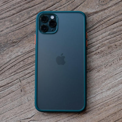 Bare Armour - Minimalist Shock Resistant Case for iPhone 11 Pro and 11 Pro Max - Green