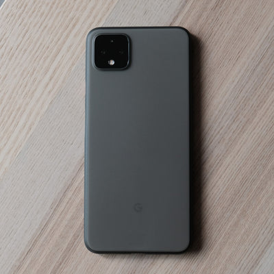 Bare Naked - Thinnest Case for Google Pixel 4 and 4 XL - Smoke