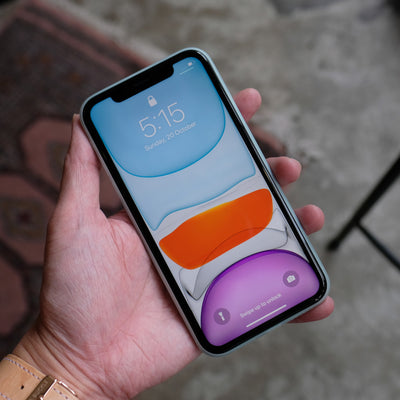 Bare Naked - Thinnest Case for iPhone 11 - Frost - Front