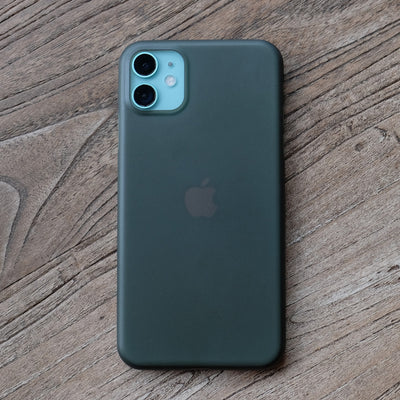 Bare Naked - Thinnest Case for iPhone 11 - Smoke