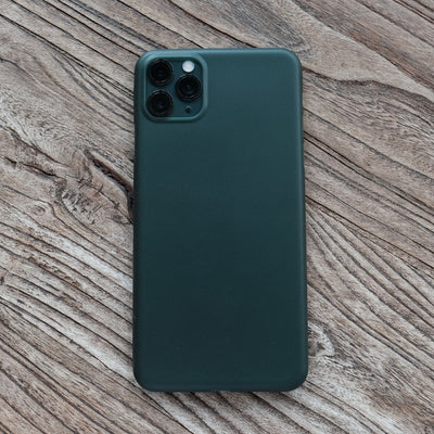 Bare Naked - Thinnest Case for iPhone 11 Pro - Midnight Green