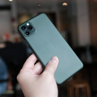 Bare Naked - Thinnest Case for iPhone 11 Pro Max - Midnight Green