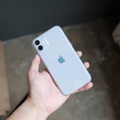 Bare Naked EX - Thinnest Clear Case for iPhone 11 - in Hand