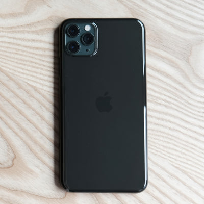 Bare Naked EX - Thinnest Clear Case for iPhone 11 Pro Max - Onyx