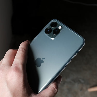 Bare Naked EX - Thinnest Clear Case for iPhone 11 Pro Max - in Hand